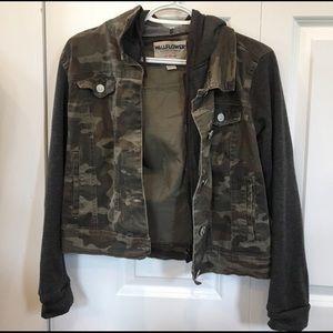 Wallflower Camo jacket